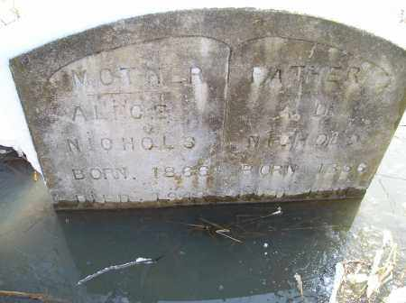 NICHOLS, AD - Lonoke County, Arkansas   AD NICHOLS - Arkansas Gravestone Photos