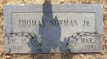 NORMAN, THOMAS JR. - Lonoke County, Arkansas | THOMAS JR. NORMAN - Arkansas Gravestone Photos