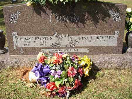ODOM, HERMAN PRESTON - Lonoke County, Arkansas   HERMAN PRESTON ODOM - Arkansas Gravestone Photos