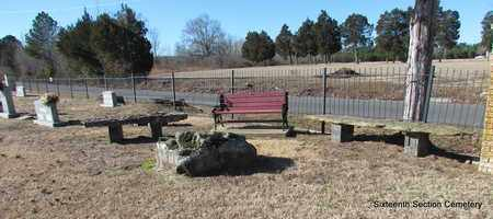 *OVERVIEW, SEATING AREA - Lonoke County, Arkansas | SEATING AREA *OVERVIEW - Arkansas Gravestone Photos