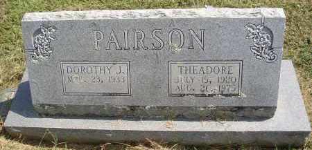 PAIRSON, DOROTHY J. - Lonoke County, Arkansas | DOROTHY J. PAIRSON - Arkansas Gravestone Photos