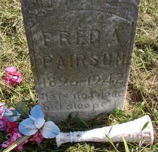 PAIRSON, FRED A. - Lonoke County, Arkansas   FRED A. PAIRSON - Arkansas Gravestone Photos