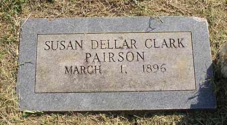 CLARK PAIRSON, SUSAN DELLAR - Lonoke County, Arkansas | SUSAN DELLAR CLARK PAIRSON - Arkansas Gravestone Photos