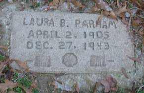 PARHAM, LAURA B - Lonoke County, Arkansas   LAURA B PARHAM - Arkansas Gravestone Photos