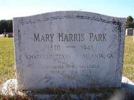 PARK, MARY - Lonoke County, Arkansas   MARY PARK - Arkansas Gravestone Photos