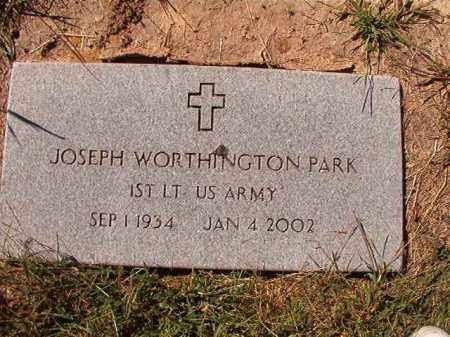 PARK (VETERAN), JOSEPH WORTHINGTON - Lonoke County, Arkansas   JOSEPH WORTHINGTON PARK (VETERAN) - Arkansas Gravestone Photos