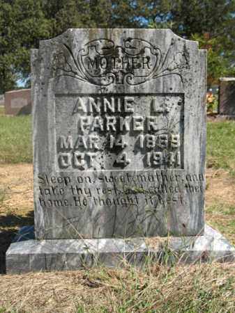 PARKER, ANNIE L - Lonoke County, Arkansas | ANNIE L PARKER - Arkansas Gravestone Photos