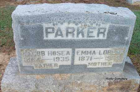 PARKER, JACOB HOSEA - Lonoke County, Arkansas | JACOB HOSEA PARKER - Arkansas Gravestone Photos