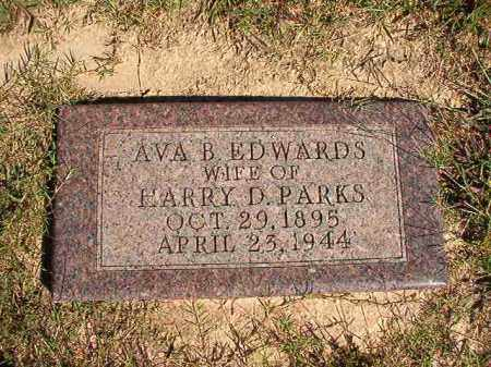 PARKS, AVA B - Lonoke County, Arkansas | AVA B PARKS - Arkansas Gravestone Photos