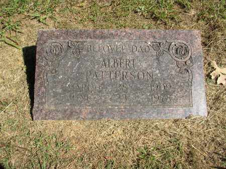 PATTERSON, ALBERT - Lonoke County, Arkansas | ALBERT PATTERSON - Arkansas Gravestone Photos