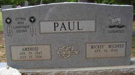 PAUL, AMBROSE - Lonoke County, Arkansas   AMBROSE PAUL - Arkansas Gravestone Photos