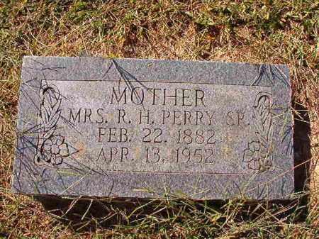 PERRY, MRS. R. H., SR - Lonoke County, Arkansas   MRS. R. H., SR PERRY - Arkansas Gravestone Photos