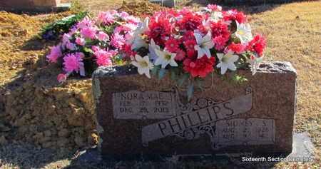 BALLARD PHILLIPS, NORA MAE - Lonoke County, Arkansas | NORA MAE BALLARD PHILLIPS - Arkansas Gravestone Photos