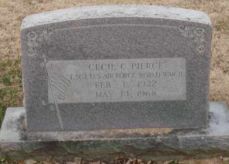 PIERCE (VETERAN WWII), CECIL C - Lonoke County, Arkansas | CECIL C PIERCE (VETERAN WWII) - Arkansas Gravestone Photos