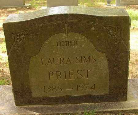PRIEST, LAURA - Lonoke County, Arkansas | LAURA PRIEST - Arkansas Gravestone Photos