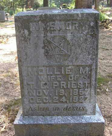 PRIEST, MOLLIE M. - Lonoke County, Arkansas | MOLLIE M. PRIEST - Arkansas Gravestone Photos