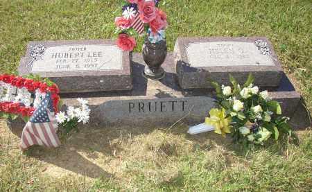 PRUETT (VETERAN WWII), HUBERT LEE - Lonoke County, Arkansas | HUBERT LEE PRUETT (VETERAN WWII) - Arkansas Gravestone Photos