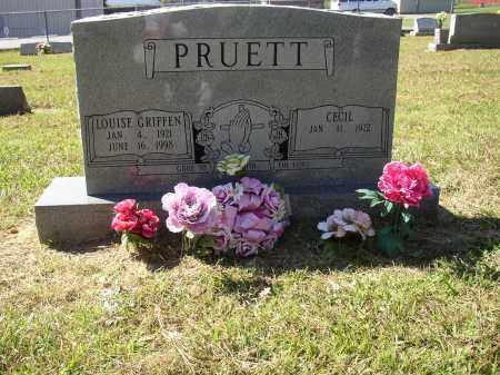 GRIFFEN PRUETT, LOUISE - Lonoke County, Arkansas | LOUISE GRIFFEN PRUETT - Arkansas Gravestone Photos