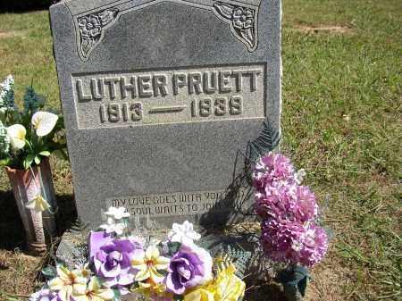 PRUETT, LUTHER - Lonoke County, Arkansas | LUTHER PRUETT - Arkansas Gravestone Photos