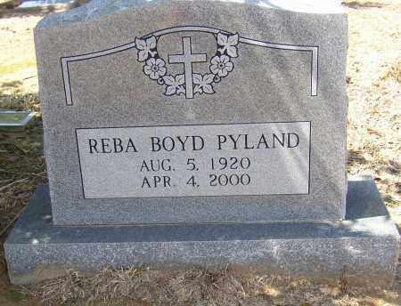 BOYD PYLAND, REBA - Lonoke County, Arkansas | REBA BOYD PYLAND - Arkansas Gravestone Photos