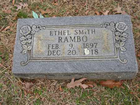 SMITH RAMBO, ETHEL - Lonoke County, Arkansas | ETHEL SMITH RAMBO - Arkansas Gravestone Photos