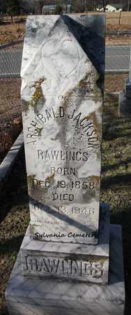 RAWLINGS, ARCHIBALD JACKSON - Lonoke County, Arkansas | ARCHIBALD JACKSON RAWLINGS - Arkansas Gravestone Photos
