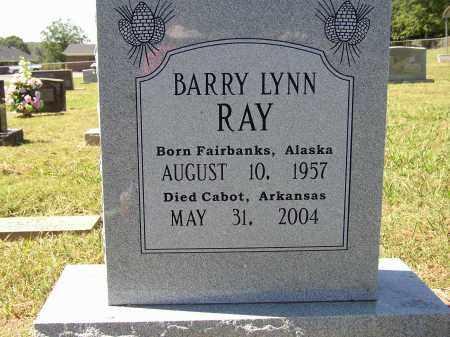 RAY, BARRY LYNN - Lonoke County, Arkansas | BARRY LYNN RAY - Arkansas Gravestone Photos