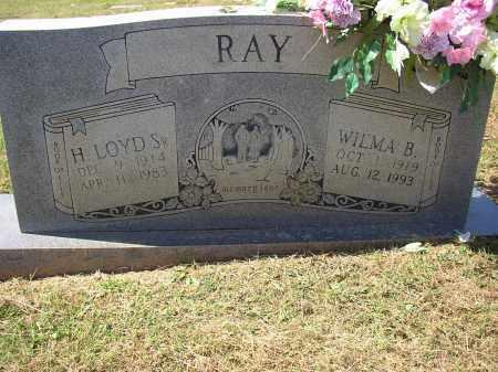 RAY, H. LOYD SR. - Lonoke County, Arkansas   H. LOYD SR. RAY - Arkansas Gravestone Photos