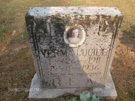 REA, VERMA LUCILLE - Lonoke County, Arkansas | VERMA LUCILLE REA - Arkansas Gravestone Photos