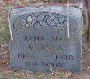 REAVES, ALMA MAE - Lonoke County, Arkansas   ALMA MAE REAVES - Arkansas Gravestone Photos