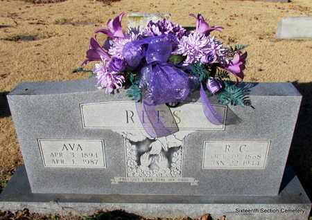 REES, AVA - Lonoke County, Arkansas | AVA REES - Arkansas Gravestone Photos