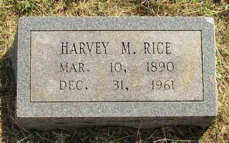 RICE, HARVEY M. - Lonoke County, Arkansas   HARVEY M. RICE - Arkansas Gravestone Photos