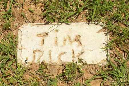 RICK, TIM - Lonoke County, Arkansas | TIM RICK - Arkansas Gravestone Photos