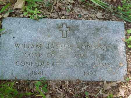 ROBINSON  (VETERAN CSA), WILLIAM JASPER - Lonoke County, Arkansas | WILLIAM JASPER ROBINSON  (VETERAN CSA) - Arkansas Gravestone Photos