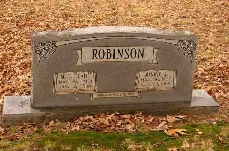 ROBINSON, MINNIE J. - Lonoke County, Arkansas | MINNIE J. ROBINSON - Arkansas Gravestone Photos
