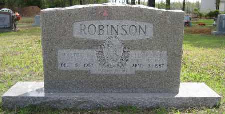 ROBINSON, WALTER M - Lonoke County, Arkansas | WALTER M ROBINSON - Arkansas Gravestone Photos