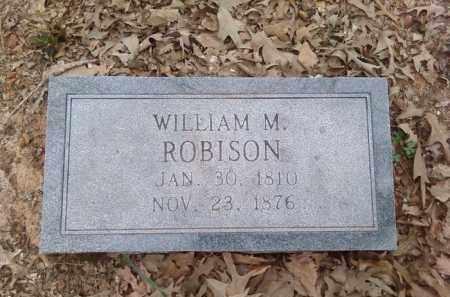 ROBISON, WILLIAM M. - Lonoke County, Arkansas   WILLIAM M. ROBISON - Arkansas Gravestone Photos