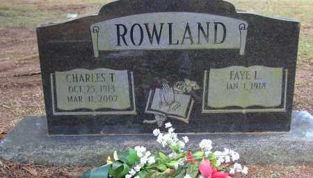 ROWLAND (VETERAN WWII, CHARLES T. - Lonoke County, Arkansas   CHARLES T. ROWLAND (VETERAN WWII - Arkansas Gravestone Photos