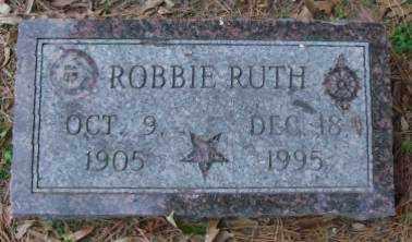 RUTH, ROBBIE - Lonoke County, Arkansas   ROBBIE RUTH - Arkansas Gravestone Photos