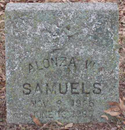 SAMUELS, ALONZO W - Lonoke County, Arkansas | ALONZO W SAMUELS - Arkansas Gravestone Photos