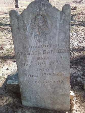 SANDERS, ABIGAIL - Lonoke County, Arkansas   ABIGAIL SANDERS - Arkansas Gravestone Photos