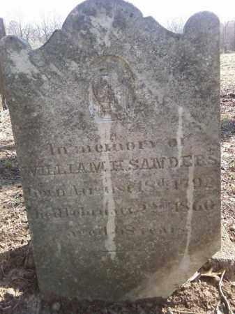 SANDERS, WILLIAM H - Lonoke County, Arkansas | WILLIAM H SANDERS - Arkansas Gravestone Photos