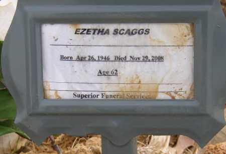 SCAGGS, EZETHA - Lonoke County, Arkansas   EZETHA SCAGGS - Arkansas Gravestone Photos
