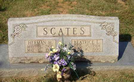 SCATES, HERMAN H. - Lonoke County, Arkansas | HERMAN H. SCATES - Arkansas Gravestone Photos