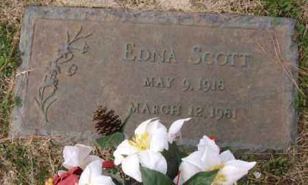 SCOTT, EDNA - Lonoke County, Arkansas | EDNA SCOTT - Arkansas Gravestone Photos