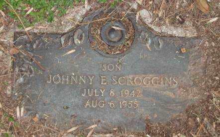 SCROGGINS, JOHNNY E - Lonoke County, Arkansas | JOHNNY E SCROGGINS - Arkansas Gravestone Photos