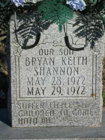 SHANNON, BRYAN KEITH - Lonoke County, Arkansas   BRYAN KEITH SHANNON - Arkansas Gravestone Photos