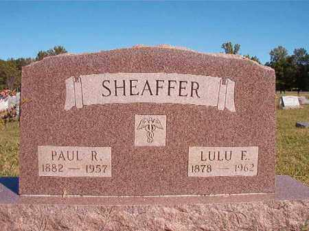 SHEAFFER, LULU E - Lonoke County, Arkansas | LULU E SHEAFFER - Arkansas Gravestone Photos