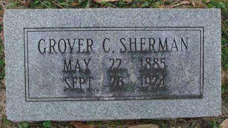 SHERMAN, GROVER C - Lonoke County, Arkansas | GROVER C SHERMAN - Arkansas Gravestone Photos