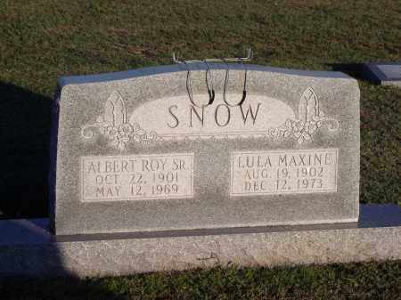 SNOW, SR, ALBERT ROY - Lonoke County, Arkansas | ALBERT ROY SNOW, SR - Arkansas Gravestone Photos